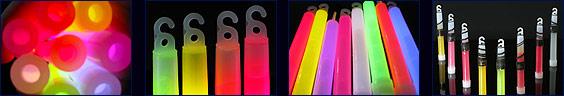 Glow stick colours